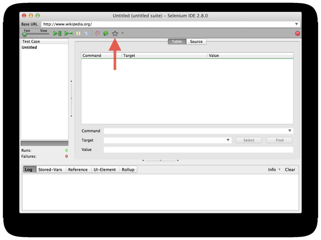 Favorites Toolbar Button OSX