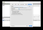 FileLogging Options Tab